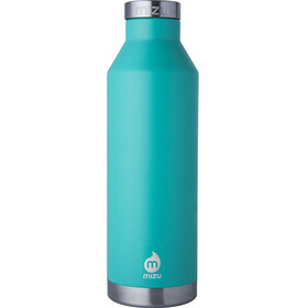 MIZU V8 juomapullo with Stainless Steel Cap 800ml , turkoosi
